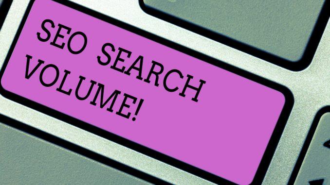 SEO search volume
